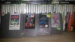 Various nes games for sale.