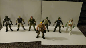 Toy Military Solider Figures lot - True Heroes