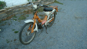 1969 honda pa50 scooter unavailable after tomorrow