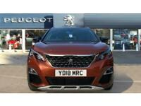 2018 Peugeot 3008 1.2 PureTech GT Line 5dr Petrol Estate Estate Petrol Manual