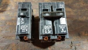 Siemens Q breakers - new