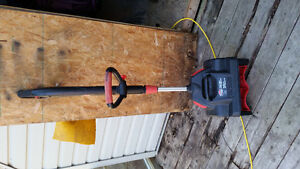 Electric snow blower like new