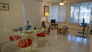 Entire apartment A/C, 2 bedrooms, 1 bathroom in Cancun, Mexico.