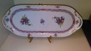Herrend Handmade/Hand Painted Hungarian Sandwich Tray