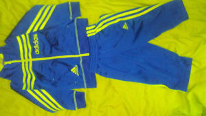 Size 2T Addidas track suit great condition !!