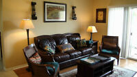Luxury Furnished Apartment with Lake View in a Beautiful Resort