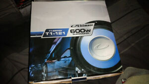 Subwoofer Ultimate T1-121  150w RMS  12in  NEUF