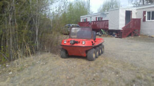 1985 argo atv 4x4 $4000 obo or will trade for qwad of same value