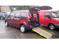 2011 Renault Kangoo Diesel Extreme Wheelchair Disabled Accessible Vehicle