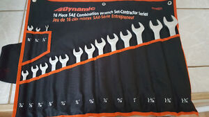 Dynamic 16 Piece Combination Wrench Set