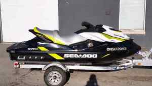 2016 SEADOO with warranty and stereo & riva racing sponsons