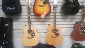 Takamine Jumbo Guitars! GJ72 and GJ72-12