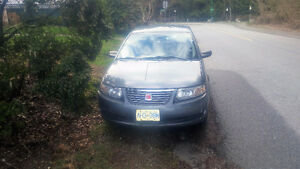 2004 Saturn ION Siver Sedan