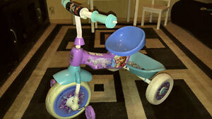 """Huffy """"Frozen"""" Tricycle - Great Condition"""