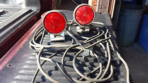 Towing Lights, trailer accy's, come along, straps,