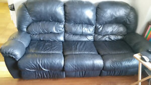 Sofa & Loveseat Leather Recliners