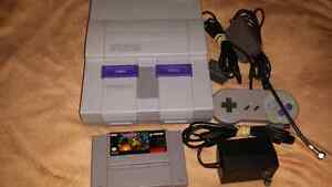 For sale, super Nintendo bundle.