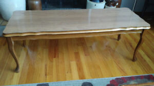 Very Nice Vintage 50s Coffee Table - 4ft Long