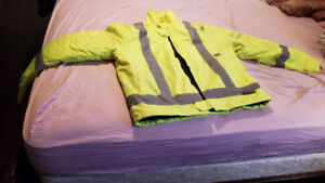 SAFETY WINTER JACKET -5 IN ONE