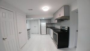 Brand new 1 bedroom walkout basement apartment for rent