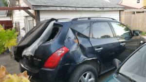 PROJECT 2004 Nissan murano open to trades and offers