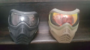 paintball pods and mask grillz, eflex, proto axis pro