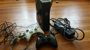 Xbox 360s With 2 wireless controllers