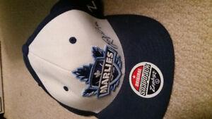 Marlies Autographed snapback cap