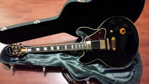 Epiphone BB King Lucille with Gibson Custom Case
