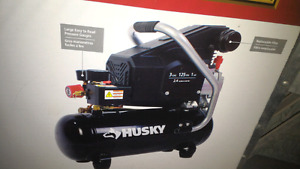 $30 Husky 3 gallon oil air compressor