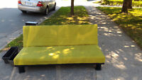 Green futon for sale
