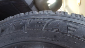 SALE!4 Winter Tires 215 55 17 good for 1 or 2 winters.