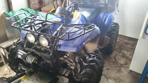 2000 Yamaha Wolverine 350 4x4 in good condition