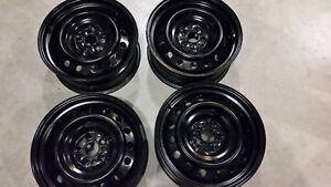 "16"" STEEL RIMS - ONLY $140 Cambridge Kitchener Area image 1"