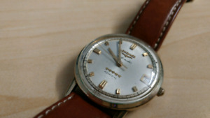 Longines Admiral 5 star 14k gold collection watch