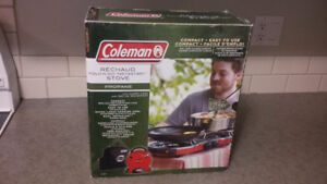 Coleman Camping Stove New - Compact with Case