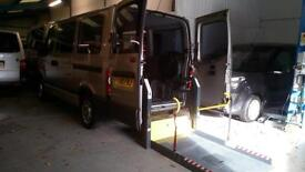 2010 Renault Master SL28 2.5DCi Wheelchair Disabled Accessible Vehicle Lift