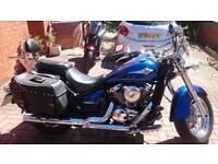 2010 KAWASAKI VN900 BAF CLASSIC, EXCELLENT CONDITION, £5,000 OR FLEXIBLE FINANCE