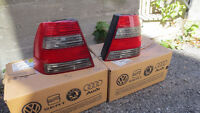VW JETTA MK4 GLI Smoked Taillight Left and Right (OEM)