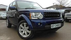 2011 LAND ROVER DISCOVERY 4 TDV6 XS STRIKING AND STUNNING BALI BLUE WITH B