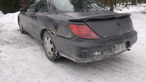 Winter beater acura cl