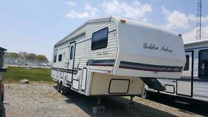 Golden falcon 5th wheel trailer
