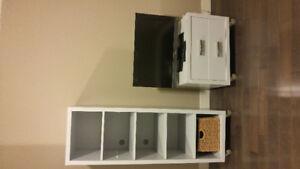 TV stand & shelving unit set