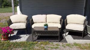 4 piece patio set
