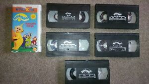 kids VHS Teletubbies movies Cambridge Kitchener Area image 1