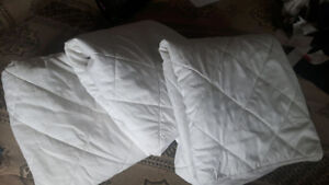 3 Quilted Fitted Crib Mattress pad covers...10.00 each.all 25.00