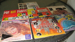 DISQUES VINYLES 33  Pop
