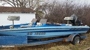 1990 Questar 185 fishing boat for sale