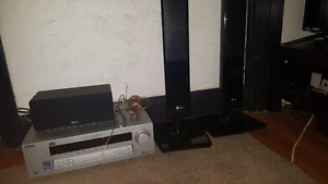 Sony Receiver with LG Speaker's