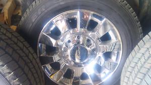 2015 Denali rims and tires